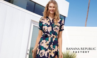 $50 at Banana Republic Factory Credit