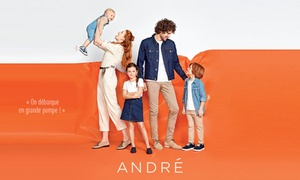 Bon d'achat de réduction chez André partout en France