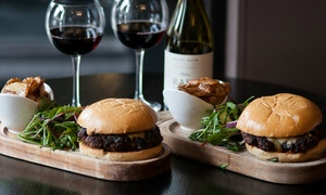 BoBar: Gourmet Burgers and Fries for Two or Four at BoBar (Up to 57% Off)