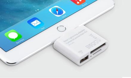 1 ou 2 connecteurs photo 5 en 1 compatible avec Apple Lightning ou Micro USB, dès 9,95 €