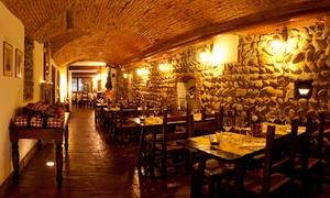 LA GRADISCA: Menu di 4 portate di pesce e calice di vino per 2 persone da La Gradisca (sconto 60%)