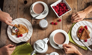 Urchin Bar: Breakfast and Regular-Sized Coffee for Two ($19) or Four People ($35) at Urchin Bar, Hampton (Up to $90 Value)