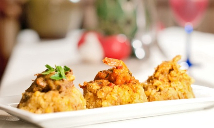 Puerto Rican Dinner for Two or a Three-Hour In-Home Custom Experience for Two with ME Casa (Up to 42% Off)