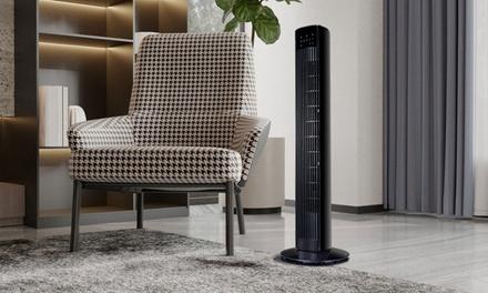 Ventilador de torre LED con control remoto Davis & Grant