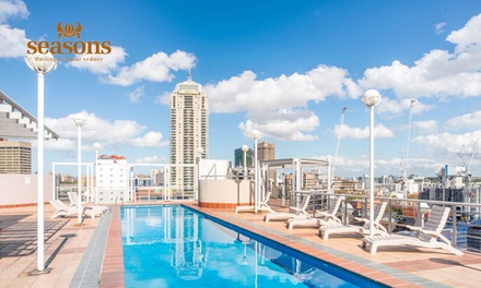 Sydney, Darling Harbour: 1Night Deluxe Suite Stay for Two People with Late Checkout at Seasons Darling Harbour Sydney