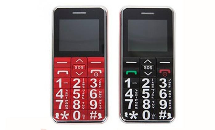 Teléfono móvil para mayores en 2 colores a elegir por 29,90 € (70% de descuento)