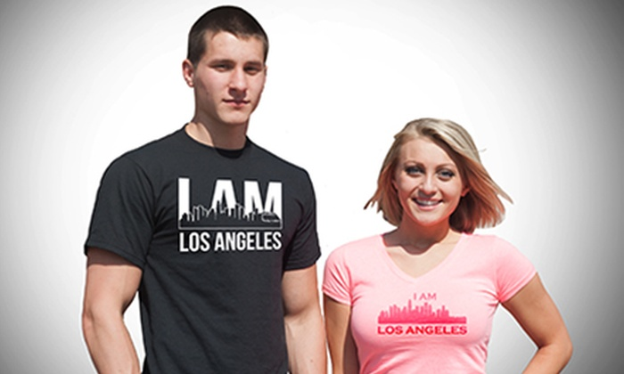 I Am LA Clothing: Los Angeles–Themed T-Shirts and Hoodies at I Am LA Clothing (Up to 52% Off)
