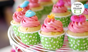 Casa das Formigas: Kit com bolo, míni cupcakes e cakepops (opção de pirulitos de chocolate e biscoitos) na Casa das Formigas – Cidade Baixa