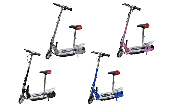 Groupon Goods Global GmbH: One or Two 140W Foldable Electric Scooters with Seat With Free Delivery