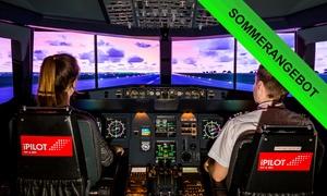 iPilot (Zentrale): 30, 60 oder 90 Min. Flight Experience im Airbus A320-Flugsimulator bei iPilot (bis zu 54% sparen*)