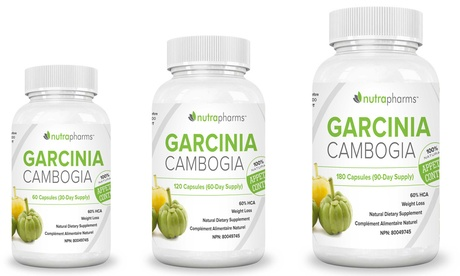 Garcinia Cambogia Weight-Loss Supplement (30-, 60- or 90-Day Supply)