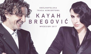 """Kayah & Bregovic Tour 2017: Od 99 zł: bilet na """"Kayah & Bregovic Tour 2017"""" w Łodzi, Gdyni, Szczecinie i Wrocławiu z priorytetowym wejściem VIP"""