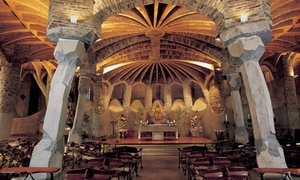 Colònia Güell - Cripta Gaudí: Visita a la Colònia Güell para 2, 4, 6 u 8 personas desde 12,95 €