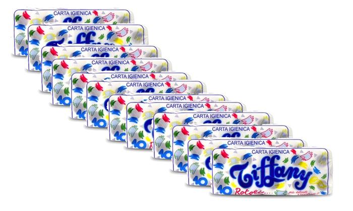 120 rotoli carta igienica Tiffany