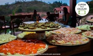 Italian Party: Italian Party: rodízio de pizza em domicílio para 30, 50, 100, 150 ou 200 pessoas