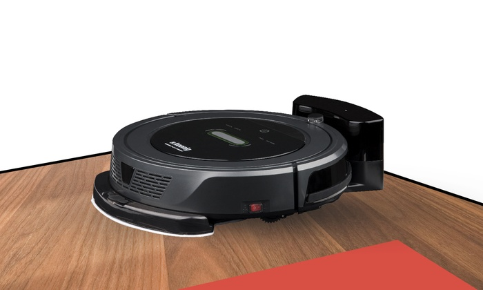 aspirateur robot serpill re h koenig groupon. Black Bedroom Furniture Sets. Home Design Ideas