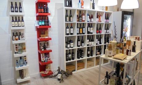 Cata horizontal de vinos con degustación de productos gourmet para 2, 4 o y 6 personas desde 14,90 € en La Gastroteka