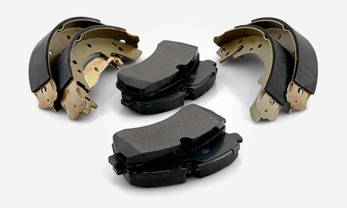Install Of Brake Pads Or Shoes Auto Repair Solutions Groupon
