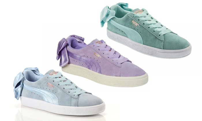 regard détaillé f0417 2b412 Up To 42% Off Women's Puma Suede Bow Sneakers | Groupon