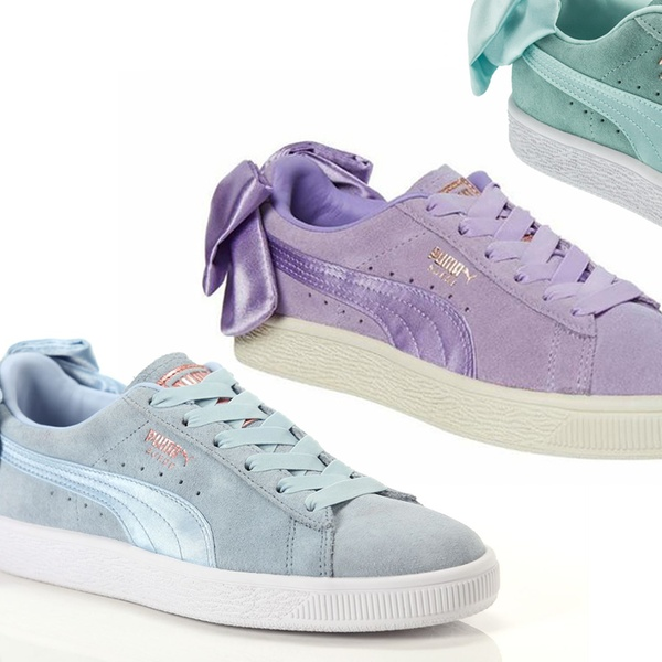 fa6192efb6c2 Up To 32% Off Women s Puma Suede Bow Sneakers