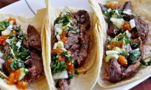 Sr. Taco: Desde $ 309 por Almuerzo o Cena Mexicana para dos o cuatro en Sr. Taco