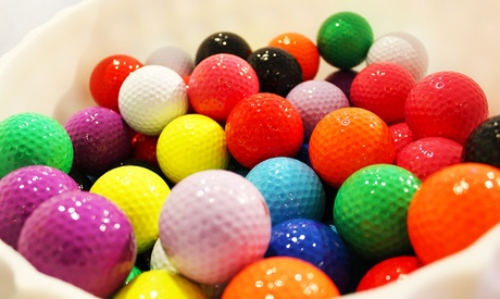 18 Holes of Indoor Mini Golf for Two or Four People at 2nd Story Entertainment (Up to 38% Off)