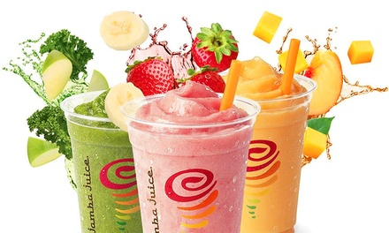 You'll have a hard time finding drinks that are truly low in carbohydrates at Jamba Juice. Since most of the beverages are made with juice and many are made with sherbet, you'll get quite of bit of sugar and carbs in each drink.