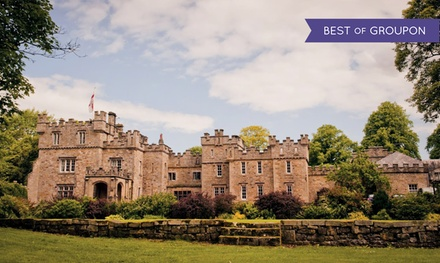 Northumberland: 1 or 2 Nights for Two People with Breakfast and Option for Dinner at Otterburn Castle Country House