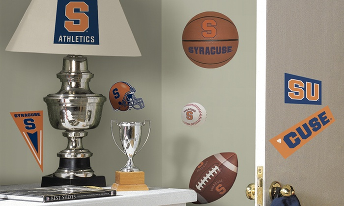 College-Sports Peel-and-Stick Wall Decals : College-Sports Peel-and-Stick  Wall Decals . Multiple Schools and Sizes Available.