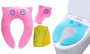 Siège de toilette pliable