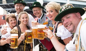 Milwaukee German Fest: Two or Four Saturday or Sunday Tickets to Milwaukee German Fest (50% Off)