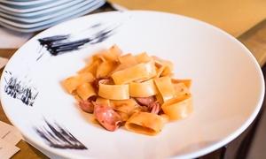 Mediterraneo Albaro: Menu Gourmet à la carte da 4 portate con calice di vino abbinato al ristorante Mediterraneo Albaro, vicino al mare