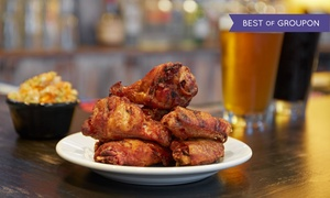 The Yelling Goat: Eclectic American Food at The Yelling Goat (Up to 38% Off). Two Options Available.