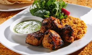Indian Cuisine at Wah India (Up to 40% Off). Two Options Available.