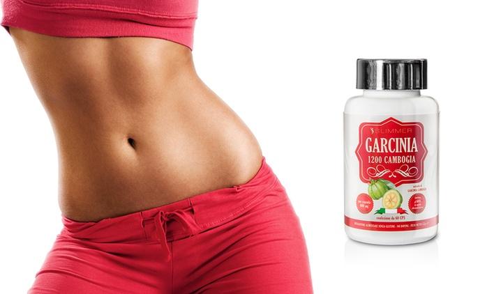 Fino a 180 capsule Garcinia Extraforte 1200 Slimfast senza glutine da 9,99 € (fino a 80% di sconto)