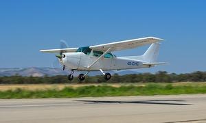 מגידו תעופה קמפיין אוקטובר: חבילת טייס ליום אחד או טיסה חוויתית ל-3 אנשים ב-475 ₪ בלבד במנחת מגידו!