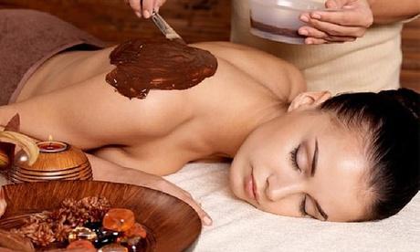 1 o 3 sesiones de masaje relajante con chocolaterapia y masaje craneosacral en Corpore (hasta 66% de descuento)