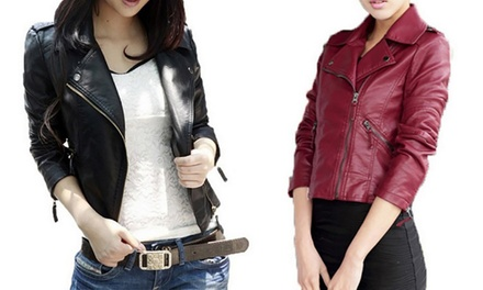 $29 for a Faux Leather Jacket
