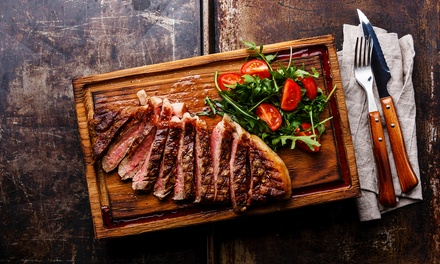 Sirloin Steak Meal for Two or Four at Native Restaurant at 4* Hilton Garden Inn Aberdeen