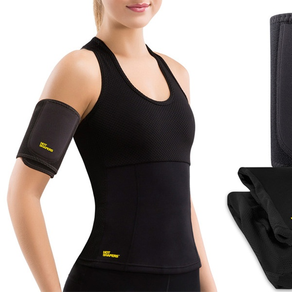 81883982bb Hot Shapers Women's Slimming Hot Tank and Arm Trimmers Kit | Groupon