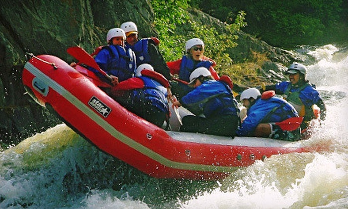 Tarka's Whitewater Journey - Norway: Whitewater Rafting on the Menominee River for Two, Four, or Seven from Tarka's Whitewater Journey (Up to 57% Off)