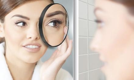 Detail-Make-up-Spiegel mit 10-facher Vergrößerung