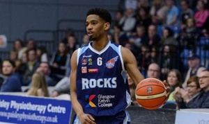Glasgow Rocks Basketball: Glasgow Rocks v Newcastle Eagles on 2 October or Sheffield Sharks on 21 October, The Emirates Arena (Up to 50% Off)
