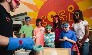 COSI – Center of Science and Industry: COSI – Center of Science and Industry Visit (September 1 - 5 and September 24 - December 15)