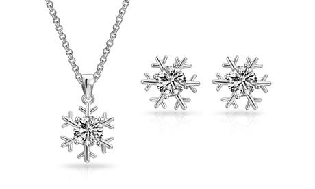 1 o 2 sets de collar y pendientes decorados con cristales de Swarovski®