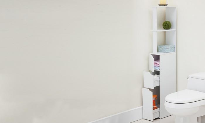Tot 59% op Opbergkast voor de badkamer | Groupon Producten