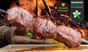 Churrascaria Boi Dourado: Churrascaria Boi Dourado – Uberaba: almoço ou jantar com rodízio para 1, 2 ou 4 pessoas
