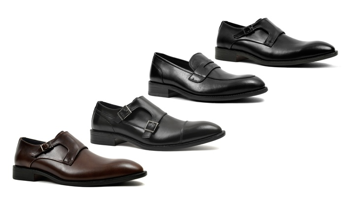 Joseph Abboud Men's Leather Slip-On Dress Shoes. Multiple Styles Available.
