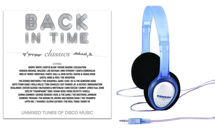 Groupon Goods Global GmbH: Cuffie e CD Back in Time Collection Classici a 19,99 €