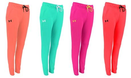 Under Armour Women's UA Tech Fleece Pants d5256d07-58c4-4a89-aeac-647e6c1d5e46
